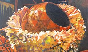 African Still Life, Kudakwashe K. Nhevera, Zimbabwean - South African Artist