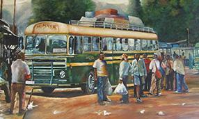 Bus, Kudakwashe K. Nhevera, Zimbabwean - South African Artist