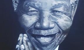 Mandela, Kudakwashe K. Nhevera, Zimbabwean - South African Artist